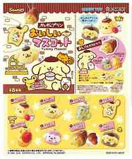 Miniature Sanrio Pom Pom Purin  pudding delicious mascot Box Set - Re-ment