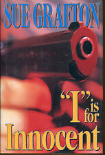I Is for Innocent 9 by Sue Grafton-1st Edition/DJ-1992-Kinsey Millhone
