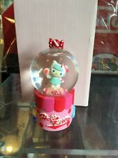 Vintage Sanrio Hello Kitty Candy Shop Water Mini Snow Globe