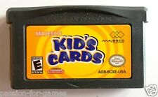 KID'S CARDS for Game Boy Advance GBA