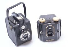 GEVEART GEVABOX EYE LEVEL & GEVABOX 6X6CM BOX CAMERAS.