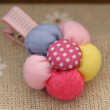 5x Baby Infant Girls Children Flower Hair Pin Clips Hairpin Accessories