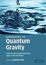 Approaches to Quantum Gravity: Toward a New Understanding of Space, Time and Mat