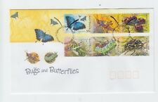 Australia 2003 Bugs and Butterflies FDC (Canberra, ACT)