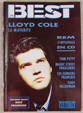 Revue BEST Septembre 1991 Lloyd Cole REM Tom Petty