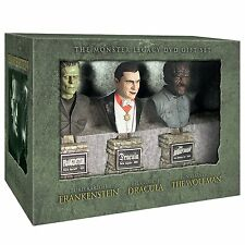 Frankenstein Dracula Wolfman Universal Studio Monsters Büsten Busts Set Sideshow