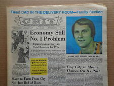 GRIT Newspaper J 1975 Walter Reed FOREST GLEN-Comics-Terry Bradshaw-SOLAR ENERGY