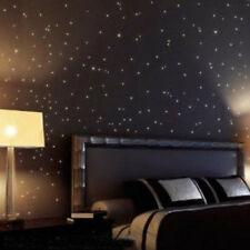 3.8CM Mini Stars brilla al buio Bambino Camera da letto Hoom Adesivi Decorazione