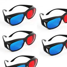 3D Brille für TV Kino und Film sportliches Design rot blau cyan Anaglyph 1pc