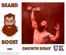 BEARD BOOST SPRAY- Grow Thick Facial Hair, Sideburns, Moustaches, Growth Serum