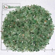 QUARTZ, GREEN 4-10mm tumbled 1/2 lb bulk xmini stones semi-transparent