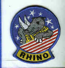 BOEING F / A-18 F SUPER HORNET RHINO US Navy Fighter Squadron Jacket Patch