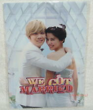 We Got Married Taiwan Promo Folder (ClearFile) Lee Hong Ki FTIsland Ok Taec Yeon
