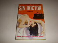 SIN DOCTOR by JOHN DEXTER, Midnight Reader MR#460, GGA, 1962, Vintage Paperback!