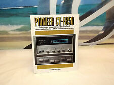 Vintage Pioneer CT-F850 Original Catalog / Magazine / Brochure
