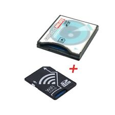 WIFI Adapter Memory Card TF Micro SD to SD SDHC to CF Compact Flash Card Kit