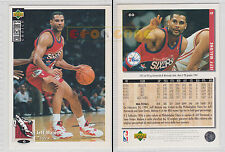 NBA UPPER DECK 1994 COLLECTOR'S CHOICE - Jeff Malone # 60 Ita/Eng MINT