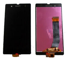 SONY XPERIA Z LT36i C6603 COMPLETE LCD DISPLAY TOUCH SCREEN DIGITIZER BLACK