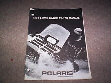 Vintage Snowmobile Polaris 1984 Long Track Parts Manual Original Not A Copy