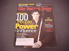 The Hockey News Magazine,Dec 29,2008,Power Issue,Sean Avery,Sidney Crosby,WJC