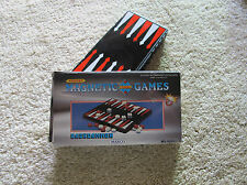 MAXCO POCKET TRAVELLING MAGNETIC BACKGAMMON BOARD w PIECES - NWOT