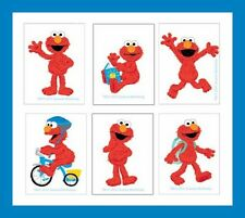 12 Elmo Sesame Street Temporary Tattoos Party Favors