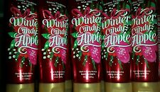 5 BATH AND BODY WORKS WINTER CANDY APPLE BODY CREAM HOLIDAY TRADITION 8 OZ EACH