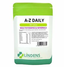 Multivitamin A to Z Daily Tablets Pack 360 Lindens Apothecary