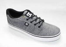 DC SHOES ANVIL TX SE GREY ROUND TOE MENS SKATE SHOE SIZE 10.5
