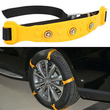 Auto Car Snow Tire Anti-skid Chains Thickened Beef Tendon Wheel TPU Chain S Size