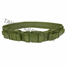 CONDOR TB Tactical Instructor Pistol Cuff Duty Nylon Belt OD Green