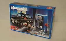 Playmobil set 4059 bank robbers set - safe cracker and getaway car police NEW