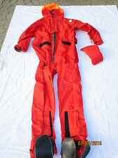Coverall Passenger Immersion MK1,orange Aircrew Not Overall,BEAUFORT,Size LARGE