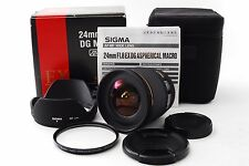 Sigma EX 24mm f/1.8 ASP EX DG Lens For Sony Excellent++ Free Shipping 146545