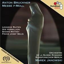 Messe f-moll von Rundfunkchor Berlin,Marek Janowski Super Audio CD (2013)