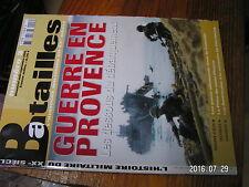 µ? Revue Batailles XXe siecle n°3 Guerre en Provence Mont Pinçon Cherbourg