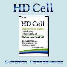 ★HD Cell Batterie★ Samsung Galaxy Note 2 N7100 -/  EB595675LU
