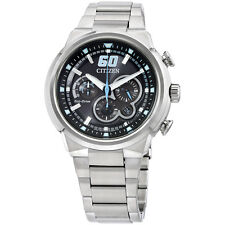 Citizen Analog Black Dial Stainless Steel Men's Watch CA413056E