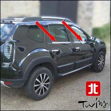 Strisce cromate sotto finestrini Dacia Duster raschiavetri anche x restyling