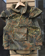 German Flecktarn Protective Flak Vest,Bundeswehr Issue, Size X-Large Long