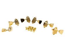Kluson Waffleback, Metal Keystone Button, Gold SK900SLG/M