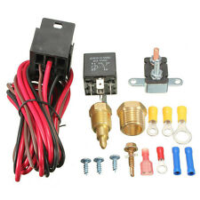 BEST 200 Degree Electric Engine Cooling Fan Thermostat Switch Relay Accessories