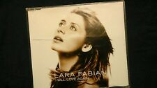 FABIAN LARA - I WILL LOVE AGAIN. CD SINGOLO 3 TRACKS