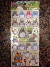 Totoro stickers assorted sticker pack japanese anime My Neighbor Totoro cartoon