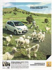 Publicité Advertising 2010 RENAULT nouvelle TWINGO INITIALE version luxe