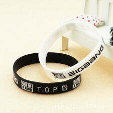 BIGBANG TOP T.O.P ONE OF A KIND KPOP Supporter WRISTBAND BRACELET X2 Y2342