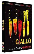 2354 // GIALLO : LE NOM D'UN SERIAL KILLER - DARIO ARGENTO, SEIGNER -DVD NEUF