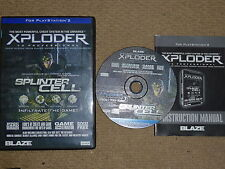 XPLODER V3 PROFESSIONAL - SONY PLAYSTATION 2 PS2 Cheat NEW! Disc DVD Region Free