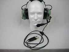 David Clark Refurbished General Aviation Headset H10-60 Dual Plug