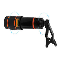 HD 12X Zoom Telephoto Telescope Phone Camera Lens For iPhone 6S 7 Plus Samsung
